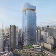 東京駅前常盤橋プロジェクトB棟の完成予想図イメージ