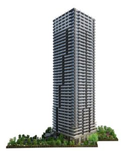 NAGOYA the TOWERの完成予想図イメージ