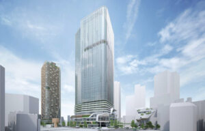渋谷二丁目西地区の完成予想図イメージ
