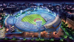 横浜スタジアムの増築・改修計画全体外観