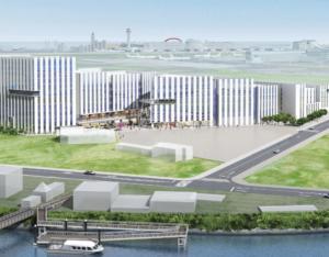 羽田イノベーションシティの外観イメージ