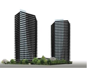ザ・パークハウス福岡タワーズの外観イメージ