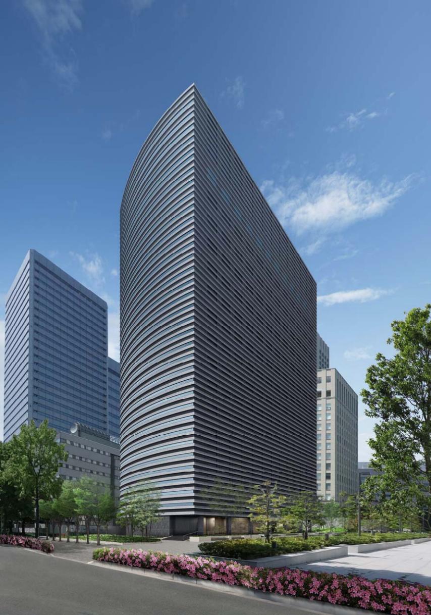 (仮称)京阪神OBPビルは2021年2月竣工!地上15階建て超高層データセンターが誕生!
