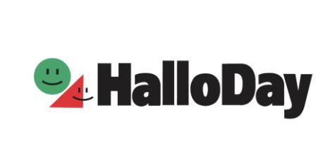 アミュプラザくまもとの注目テナント店舗「ハローデイ」のロゴ