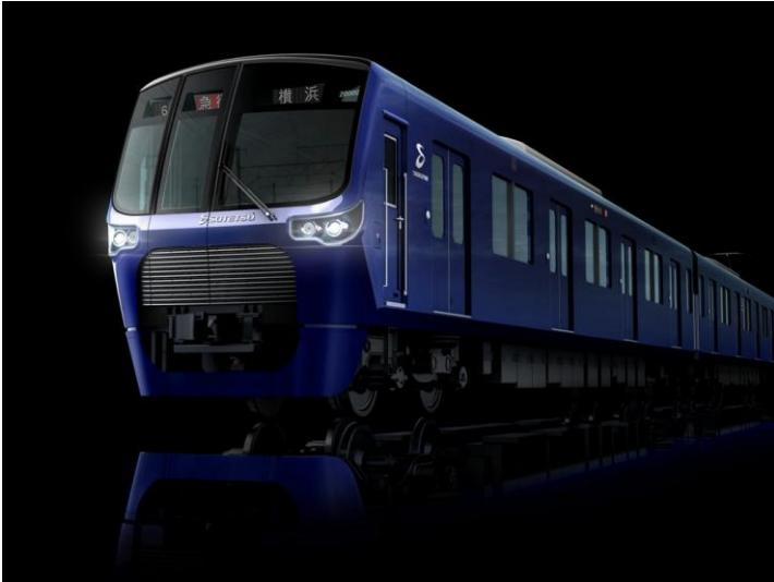相鉄・東急新横浜線用新型車両「20000系」のイメージ写真