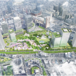 うめきた2期地区開発事業者決定!三菱地所を代表とする企業グループに。延床53万㎡超の大規模再開発!