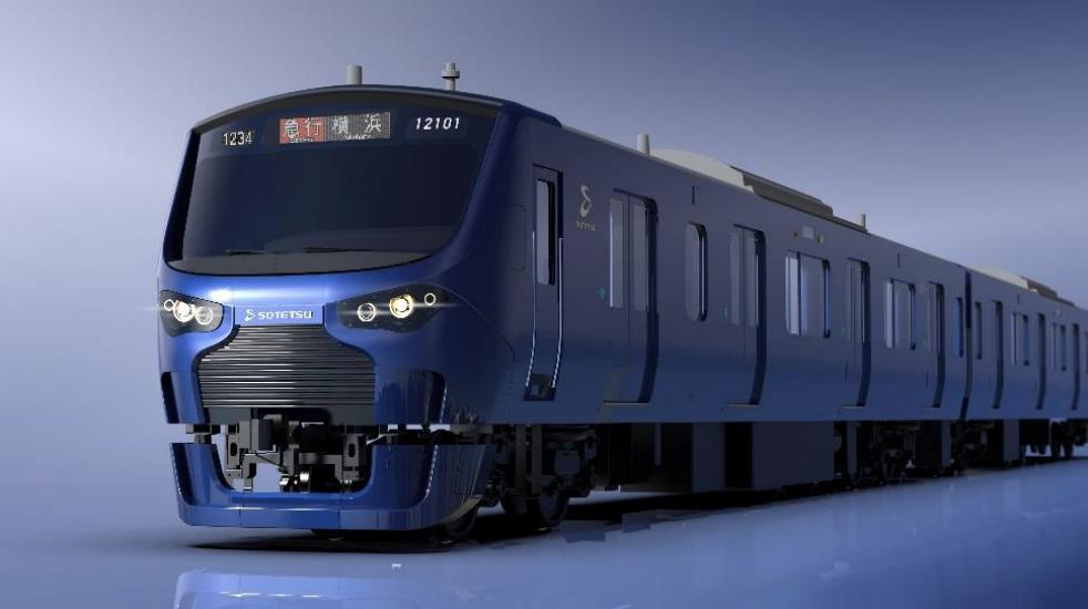 相鉄・JR直通線用新型車両「12000系」のイメージ写真