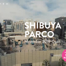 渋谷パルコ公式サイトのスクリーンショット画像