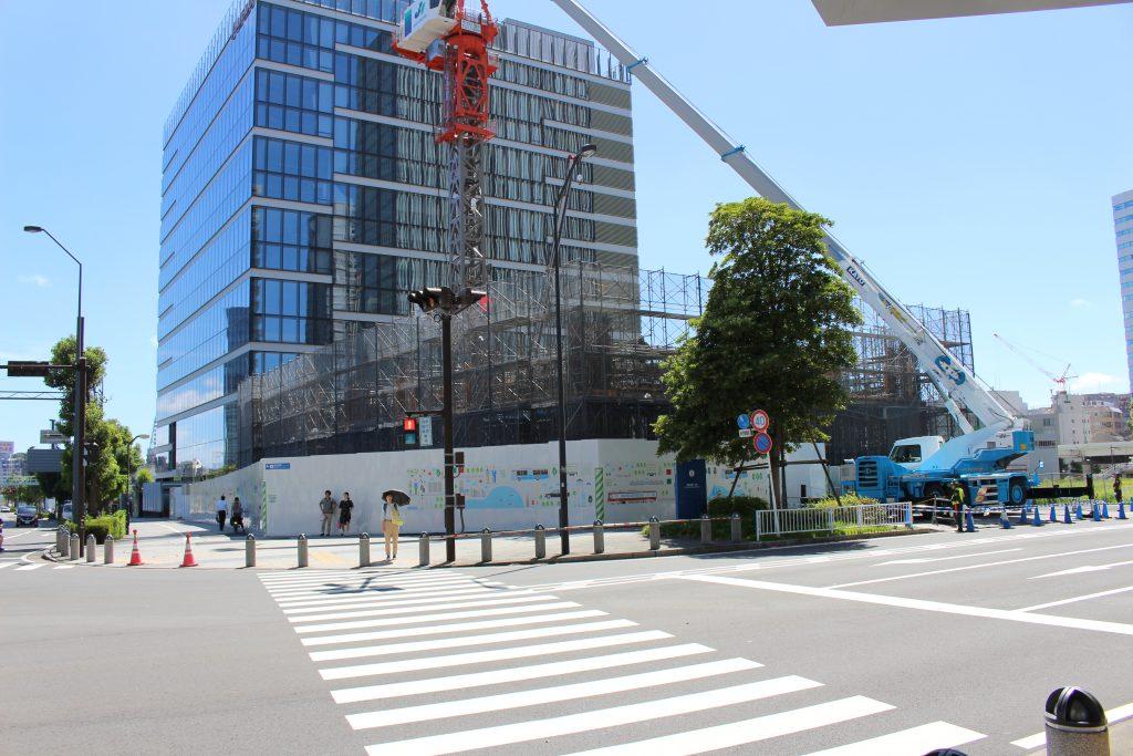 京急グループ本社ビルの工事の様子3