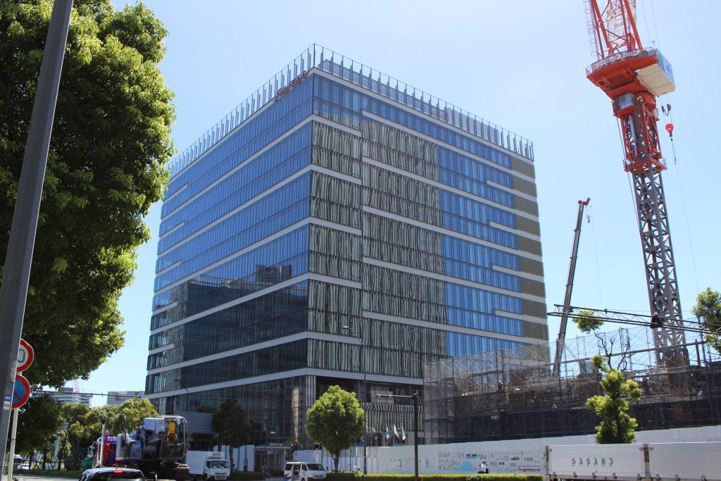 資生堂グローバルイノベーションセンターの工事の様子1