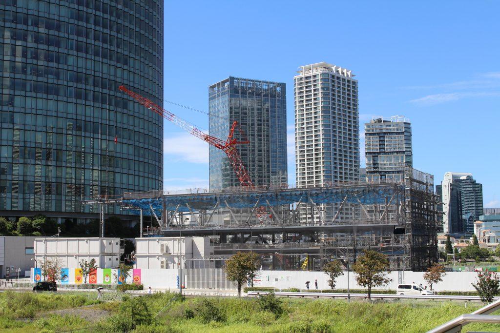 横浜アンパンマンこどもミュージアム移転プロジェクトの工事の様子2