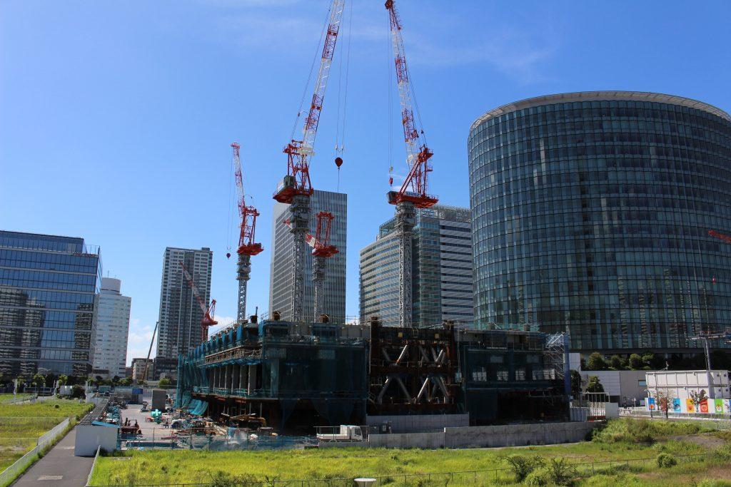 横浜グランゲートの工事の様子2