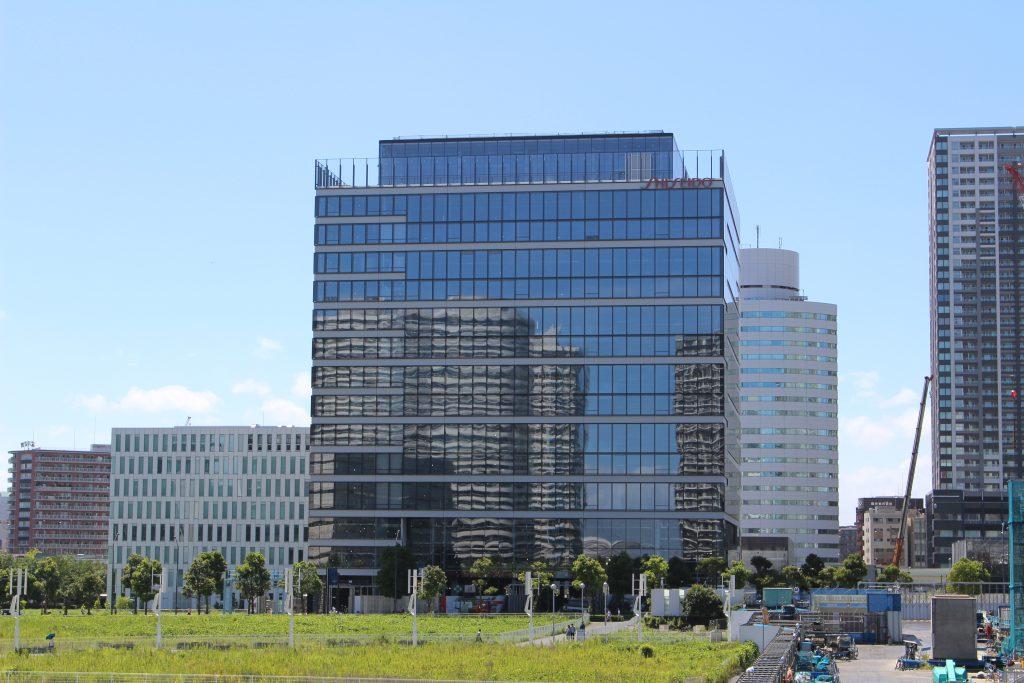 資生堂グローバルイノベーションセンターの工事の様子2