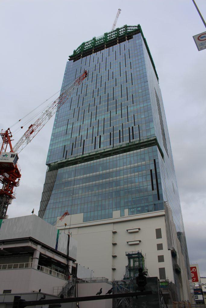 渋谷スクランブルスクエアの工事現場2