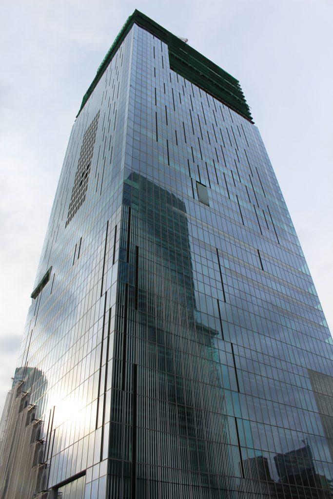 渋谷スクランブルスクエアの工事現場1