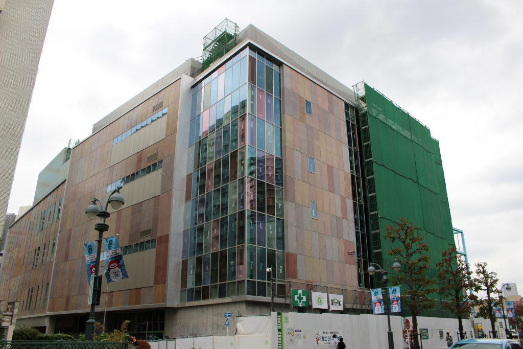 渋谷区役所建替えプロジェクト新庁舎棟(公会堂)