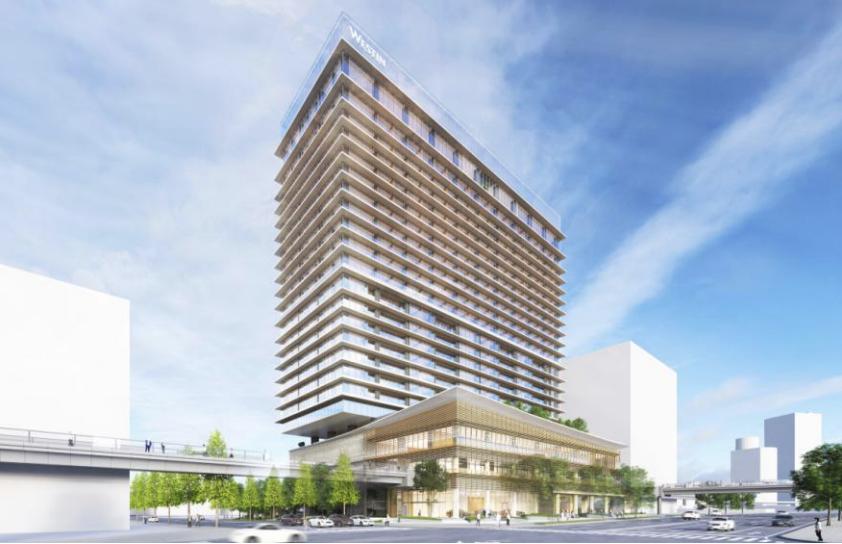 ウェスティンホテル横浜の外観イメージ2