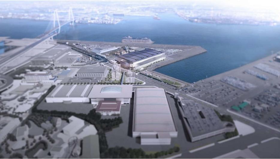 名古屋市国際展示場(ポートメッセなごや)の将来イメージ