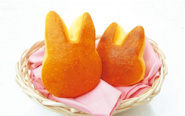 ベーカリー兎座LEPUSのウサギのバンズの写真