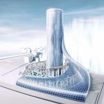 「夢洲駅タワービル」大阪メトロが夢洲駅超高層駅ビル構想を発表!275m級55階建て