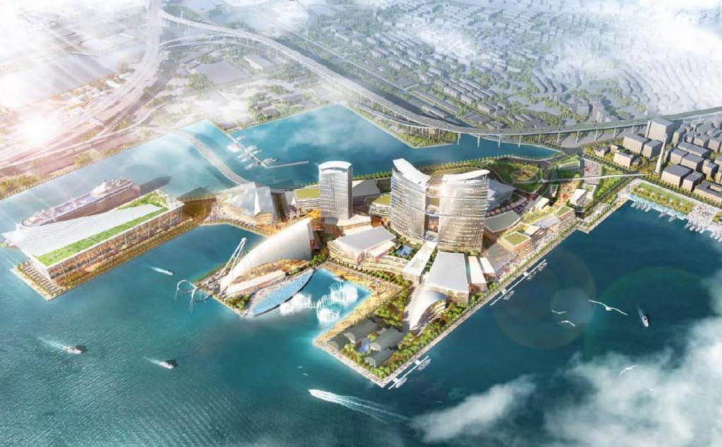 横浜市のIR(統合型リゾート・カジノ)構想案が明らかに。山下埠頭へ誘致の是非を検討へ。いつどこに計画?のイメージ図4
