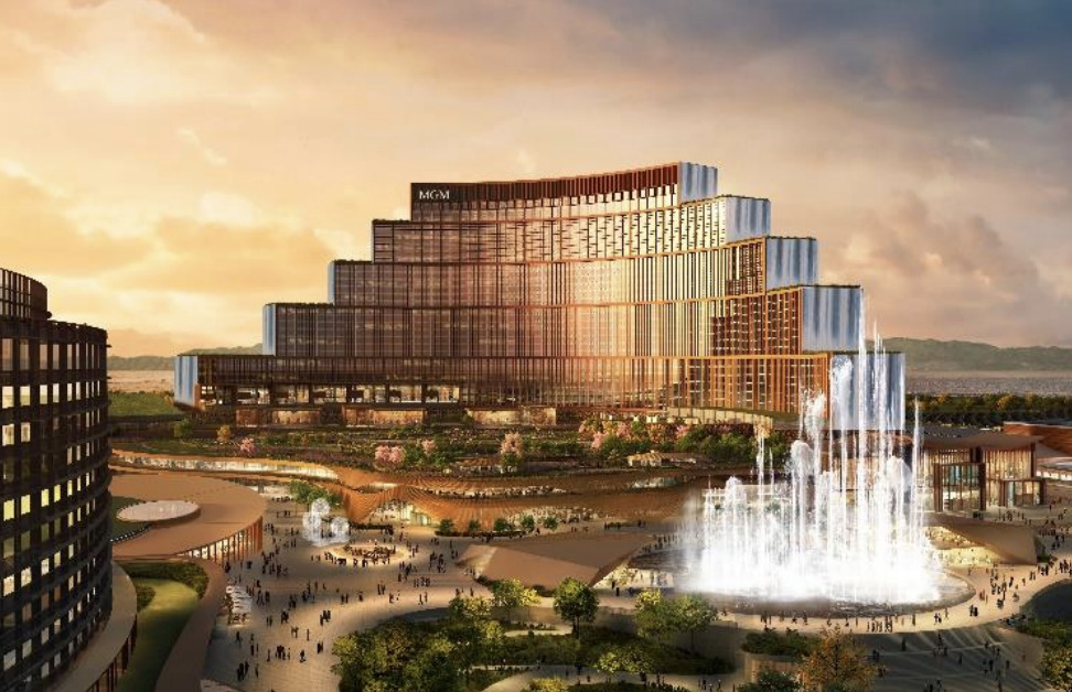 MGM・オリックスのIR(統合型リゾート)計画の完成予想図イメージ2