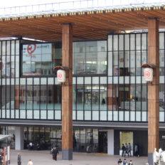長野駅の外観写真