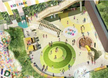 亀戸六丁目計画キッズパークイメージ