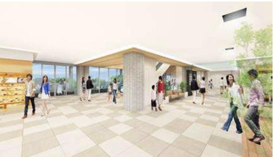キーノ和歌山商業ゾーン内観イメージ2