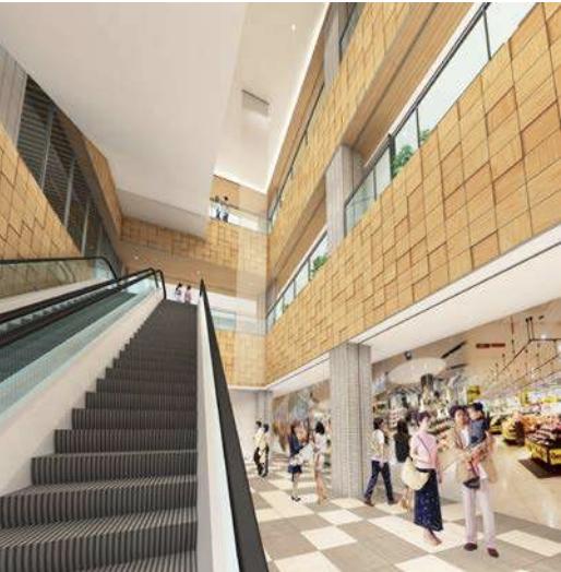キーノ和歌山商業ゾーン内観イメージ3