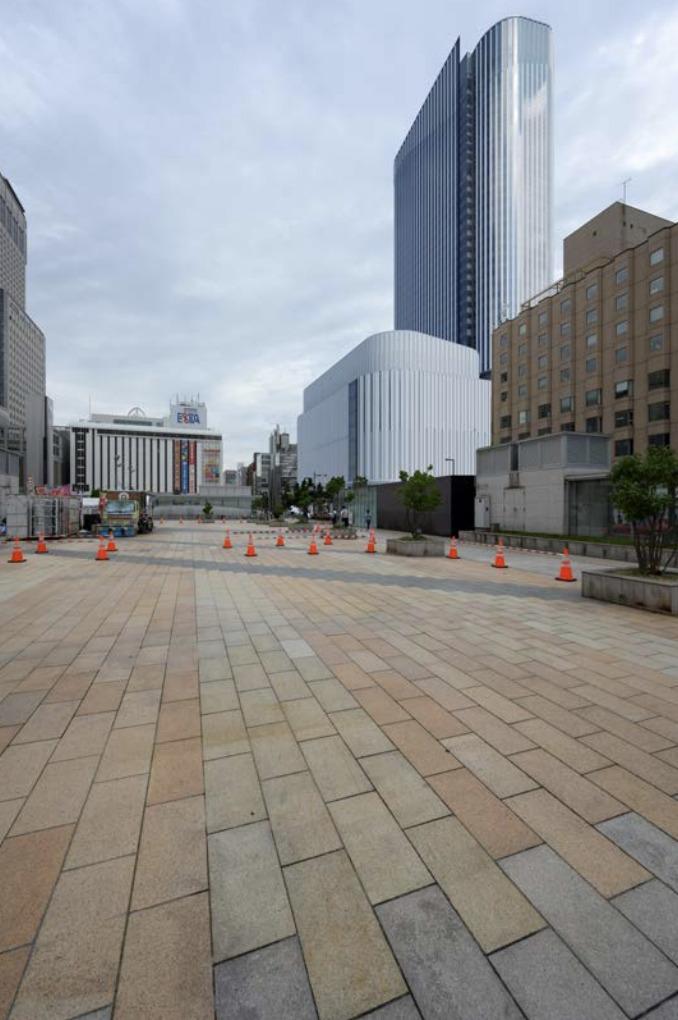 札幌駅南口北4西3街区再開発の完成予想図2