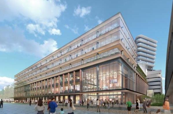 JR長崎新駅ビルの商業施設イメージ2