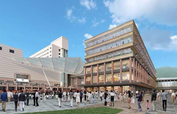 JR長崎新駅ビルの商業施設イメージ