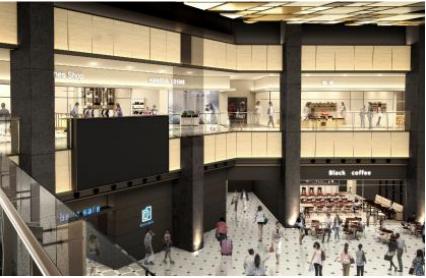 ショッピングシティ羽田エアポートガーデンの内観イメージ1