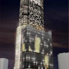 新宿ミラノ座跡地再開発(歌舞伎町一丁目地区開発計画)の外観イメージ