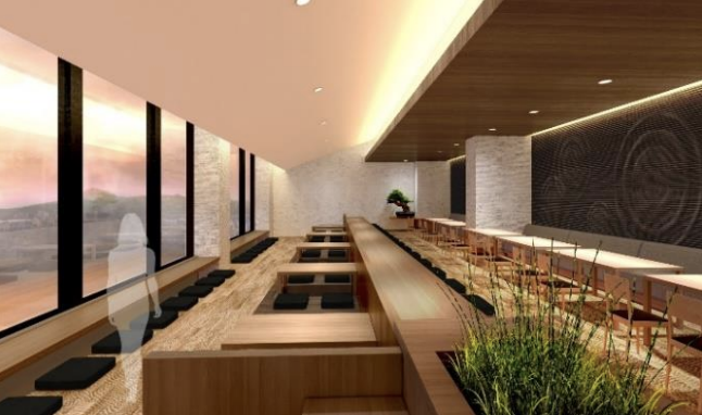 泉天空の湯 羽田空港のレストランイメージ