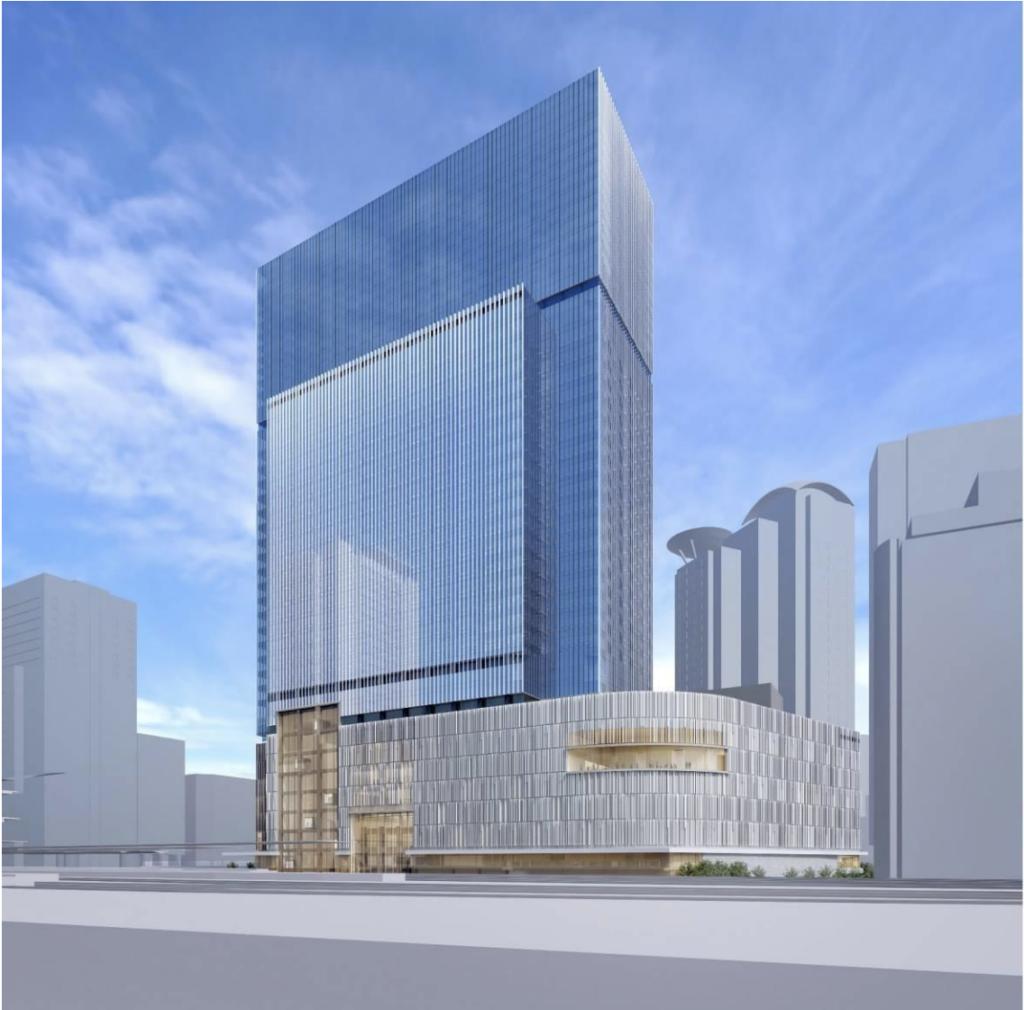 大阪駅西地区開発計画の外観イメージ1
