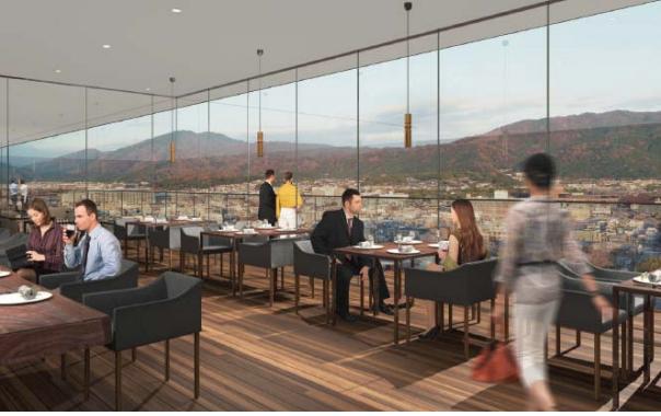 ザ・ゲートホテル京都高瀬川の展望レストランイメージ