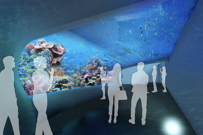 DMMかりゆし水族館の内観イメージ3