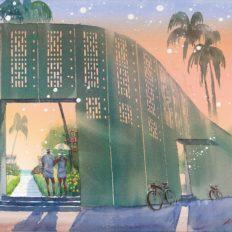 星のや沖縄の外観イメージ