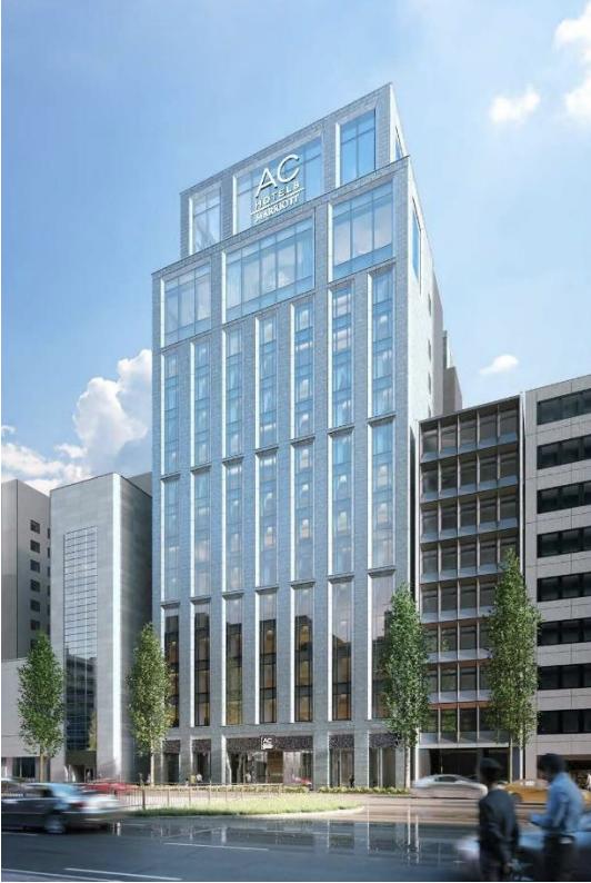 ACホテル・バイ・マリオット東京銀座の外観イメージ