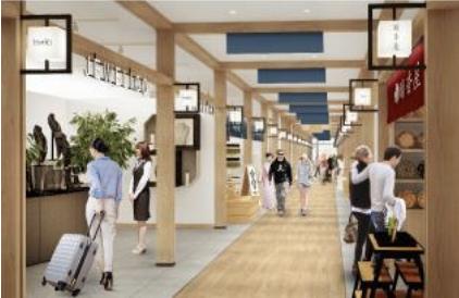 ショッピングシティ羽田エアポートガーデンの内観イメージ2