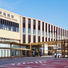 新高岡駅の外観写真