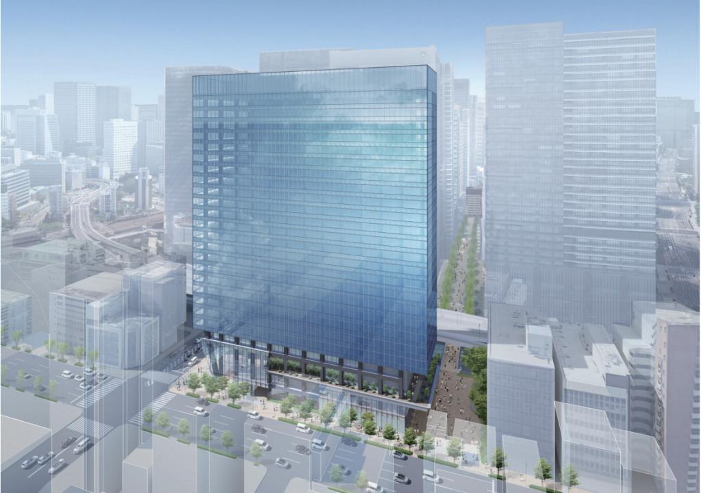 内神田一丁目地区の再開発プロジェクトの外観イメージ