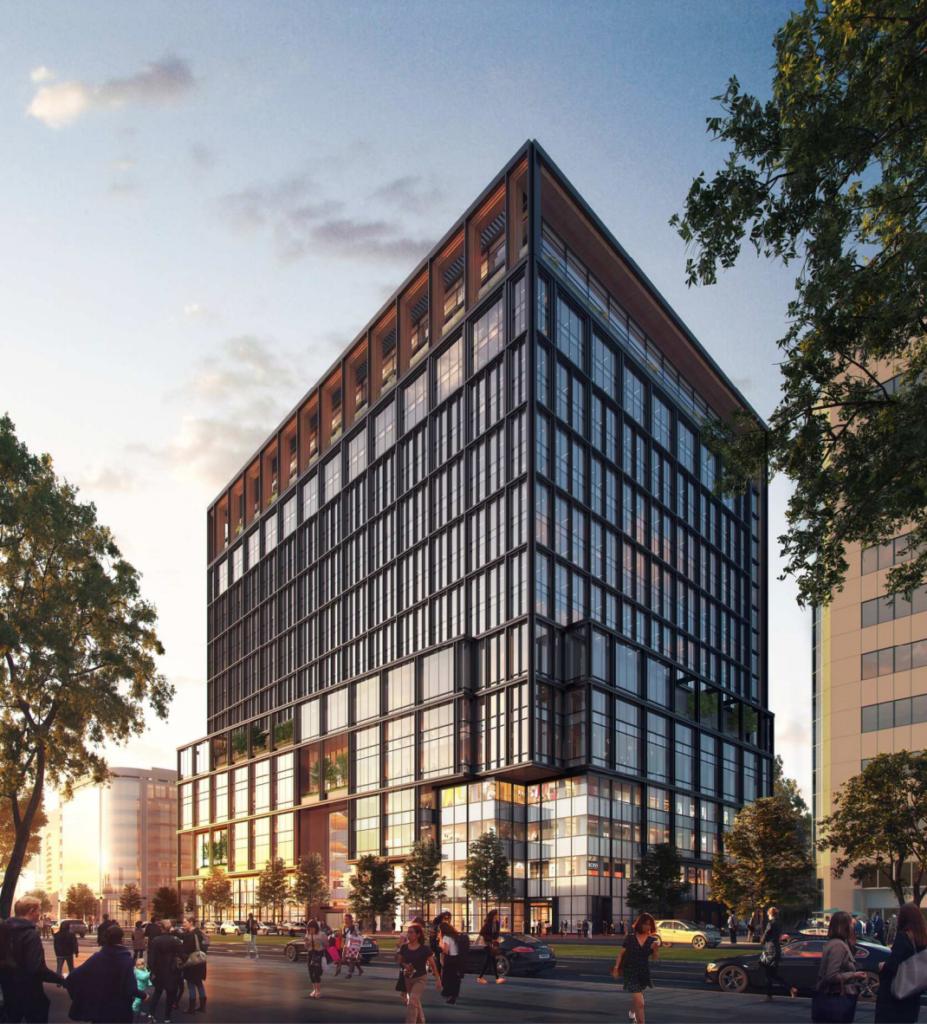 福ビル街区建替プロジェクトの完成予想イメージ