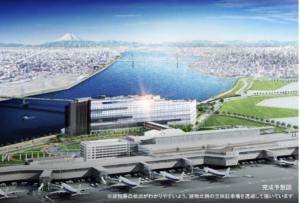 羽田エアポートガーデンの外観イメージ