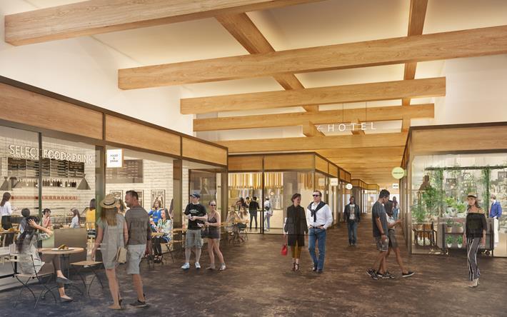 新風館の商業施設イメージ1