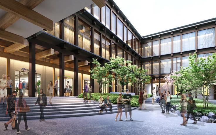 新風館の商業施設イメージ2
