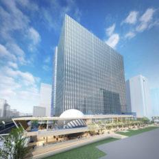横濱ゲートタワーの完成予想イメージ
