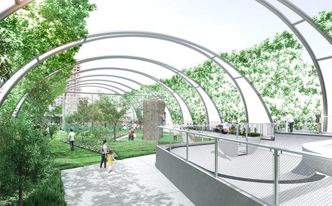 宮下パークの公園イメージ